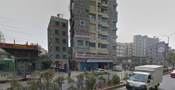 ICT Layer Address Google Map